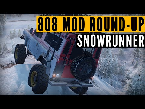 Download SnowRunner MODS: 808 Modding crew & SPECIAL RNG 6x6