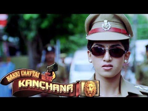 POLICE WOMAN KANCHANA IPS     Tamil  Movie 2015 New Releases  KAKKICHATTAI KANCHANA