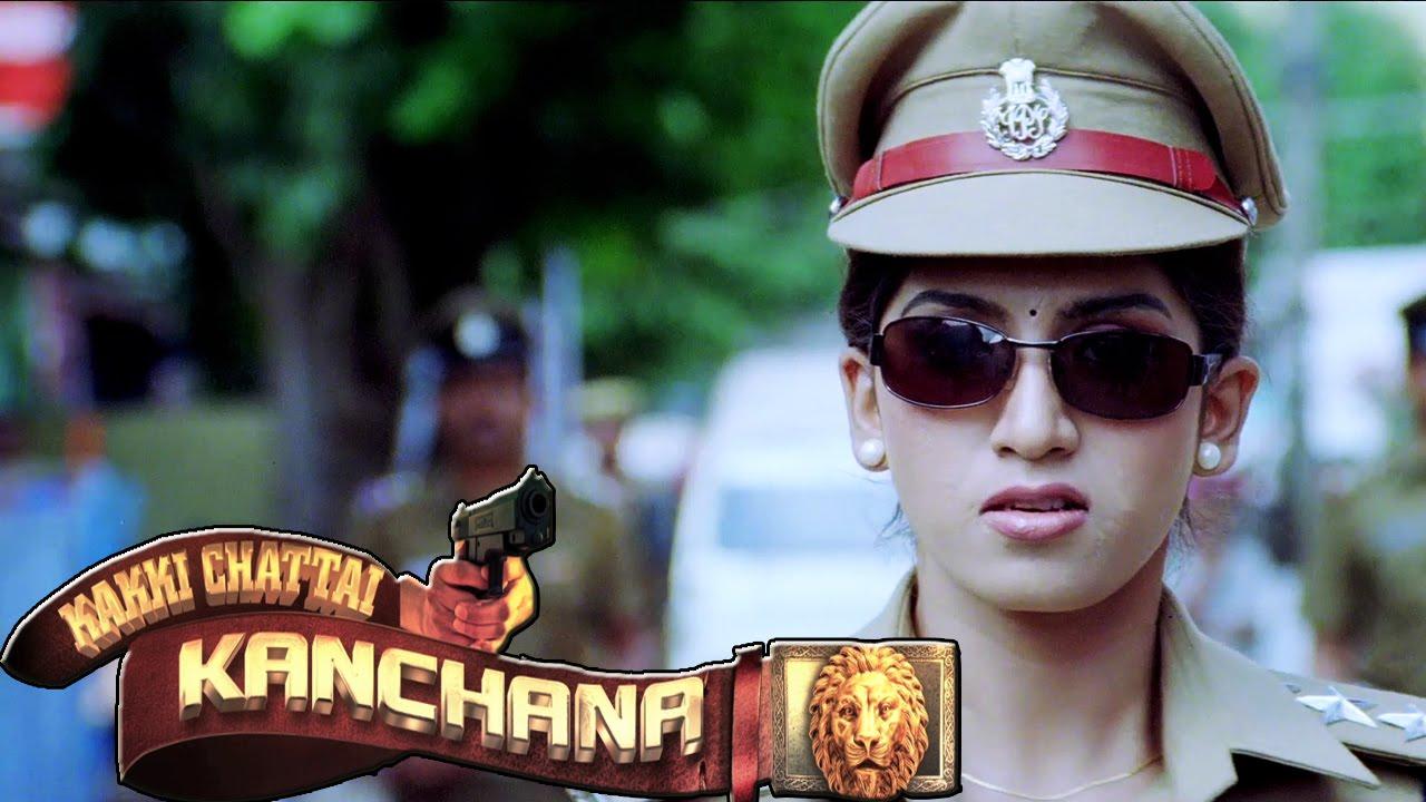 police woman kanchana ips tamil movie 2015 new releases kakkichattai