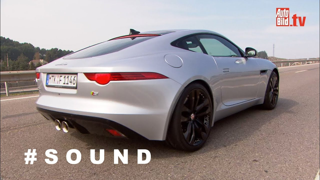 Jaguar F Type Coupé V6 S   Sound