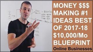 Money making ideas that work 2017 for beginners $10,000 a month blueprint