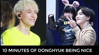 10 MINUTES OF DONGHYUK BEING NICE AND KIND