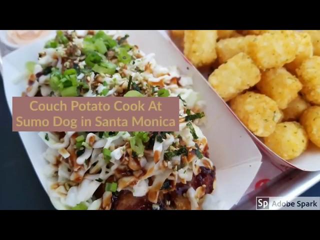 Sumo Dog in Santa Monica | CouchPotatoCook.com