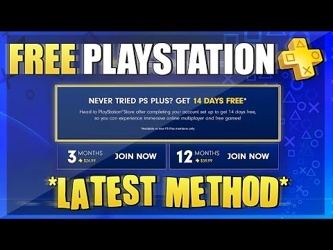 how to get free playstation plus 2016 free ps plus tutorial no credit card working october. Black Bedroom Furniture Sets. Home Design Ideas