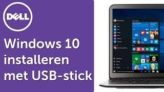 Windows 10 installeren met een USB-stick