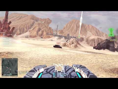 Planetside 2 Harasser Aphelion Gameplay