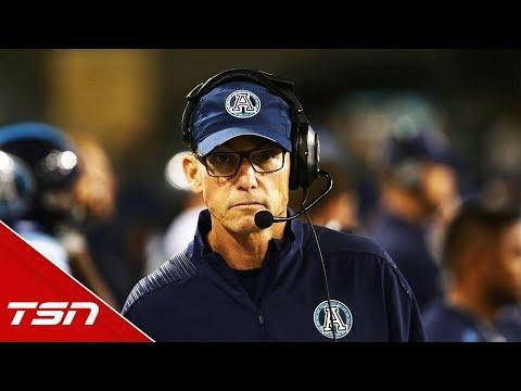 Argonauts fire head coach Trestman after dismal 4-14 season.