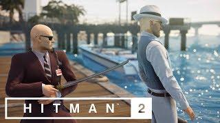HÖGLJUDD NINJA | Hitman 2 Ghost Mode | figgehn vs ChrisWhippit