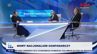 Rozmowy niedokończone: Nowy nacjonalizm gospodarczy cz.I