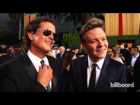 Carlos Vives & Michel Teló: Billboard Latin Music Awards Red Carpet 2014
