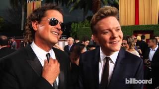 Carlos Vives & Michel Teló: Billboard Latin Music Awards Red Carpet 2014