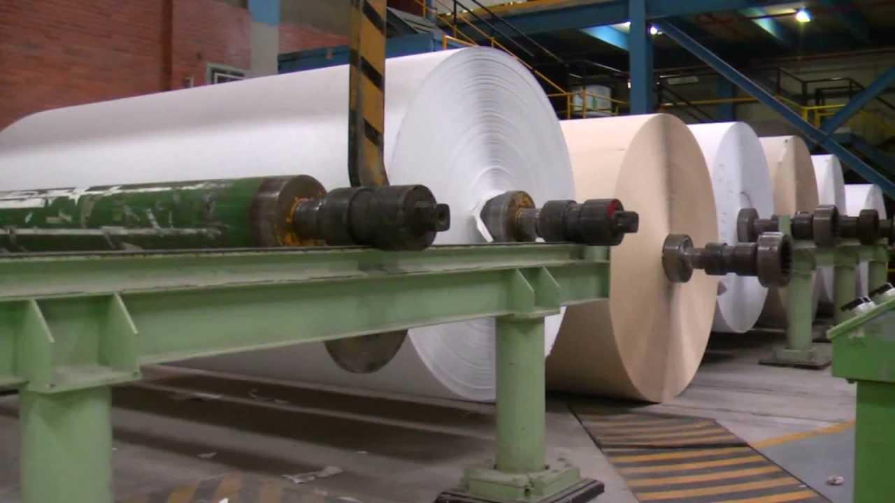 Caravajal Pulp Paper Production Process Youtube