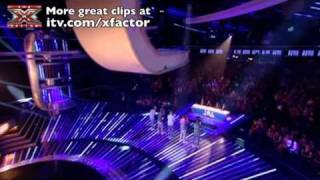 The X Factor 2010: Changing the song at the very last moment can be...