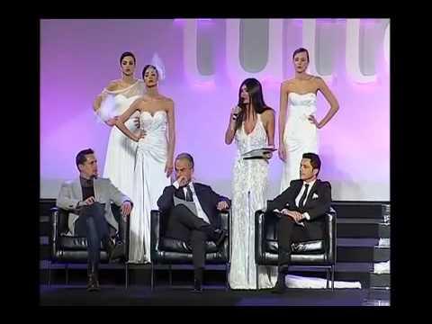 Live Show Enzo Miccio e sfilata Gino Signore -  Tutto Sposi Napoli 2013