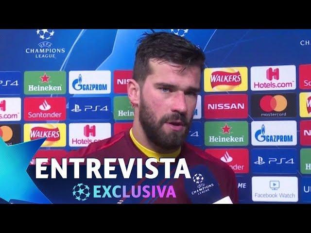 "ALISSON: ""A TRAGÉDIA NO FLAMENGO FOI INACEITÁVEL"" | Liverpool 0x0 Bayern de Munique"