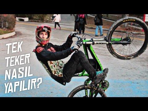 TEK TEKER NASIL YAPILIR ? / How to Wheelie ?