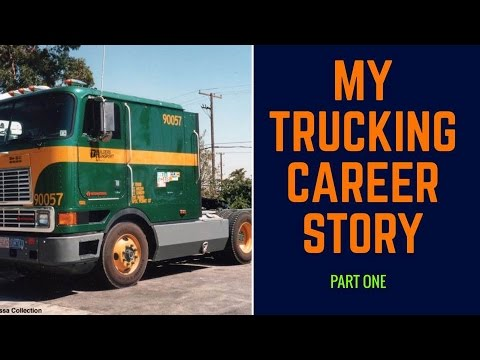 My Trucking Career Story Part 1-Training With Builders Transport