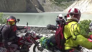 Nepali family advenger 8days dirt bike ride manang mustang lomanthang & korola.