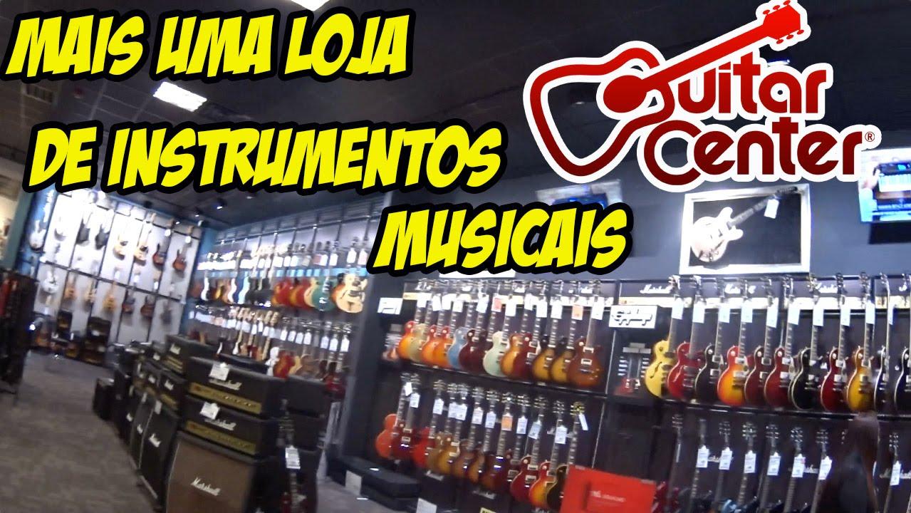 loja de instrumentos musicais nos eua guitar center youtube