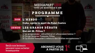 « En direct de Mediapart » : ce qu'est la droite de François Fillon