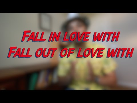 Fall in love with - Fall out of love with - W9D7 - Daily Phrasal Verbs - Learn English online free