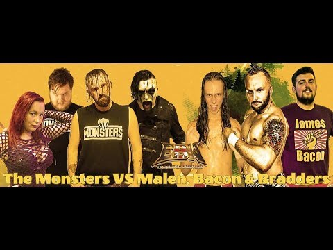 The Monsters vs Paul Malen, Kyle Bradders and James Bacon