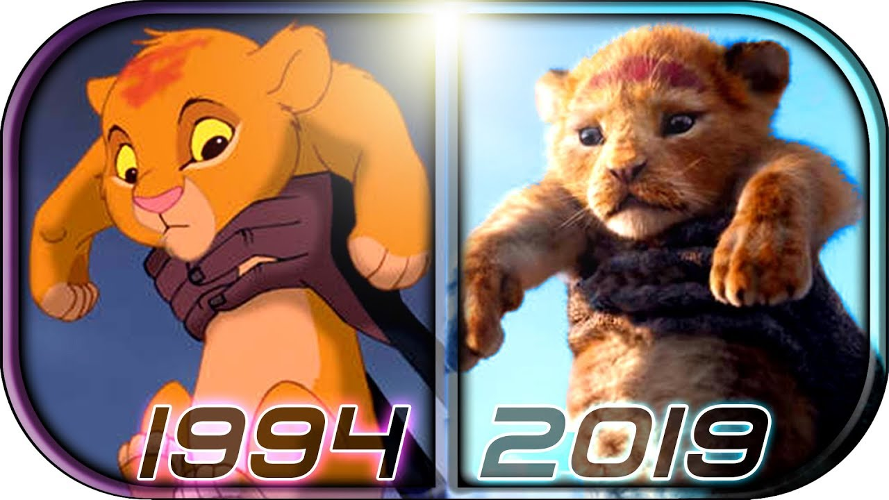 Evolution Of The Lion King Simba In Movies Cartoons Tv 1994 2019 The Lion King Movie Scene Trailer Youtube
