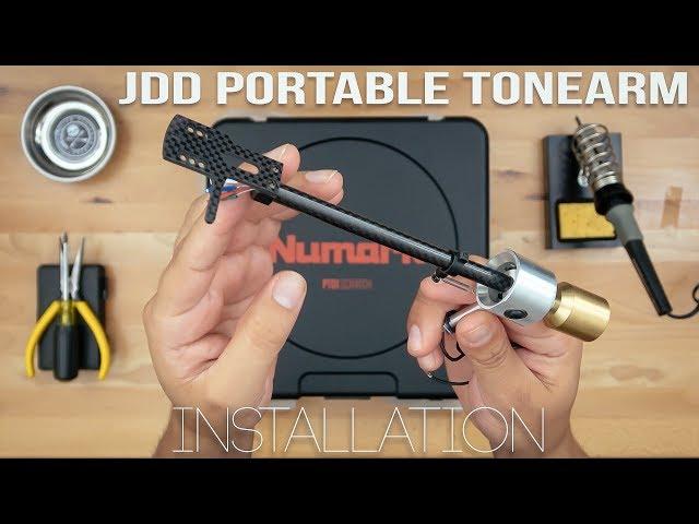 JESSE DEAN DESIGN PORTABLE TONEARM (JDDPTA) | INSTALLATION