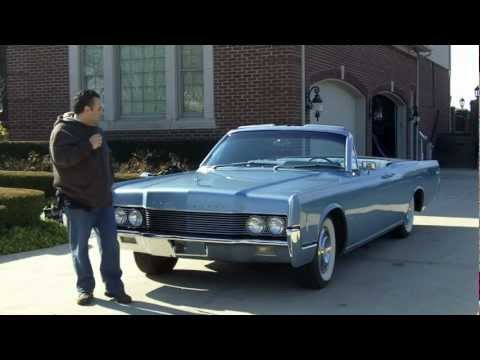 1966 Lincoln Continental Convertible Classic Muscle Car for Sale in MI Vanguard Motor Sales