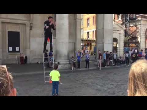 Covent Nick Magician in Covent Garden Central London England on Friday 20 April 2018