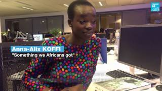 Something we Africans got : 3 questions à Anna-Alix Koffi