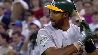 1992 ALCS Gm1: Baines collects three hits off Morris