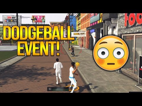 WORLDS FIRST DODGEBALL GAME IN NBA 2K19