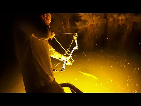 Shooting Over 100+ FISH In 1 Night!!! - BOWFISHING