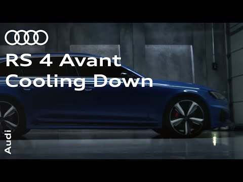 The new Audi RS 4 Avant - Cooling Down