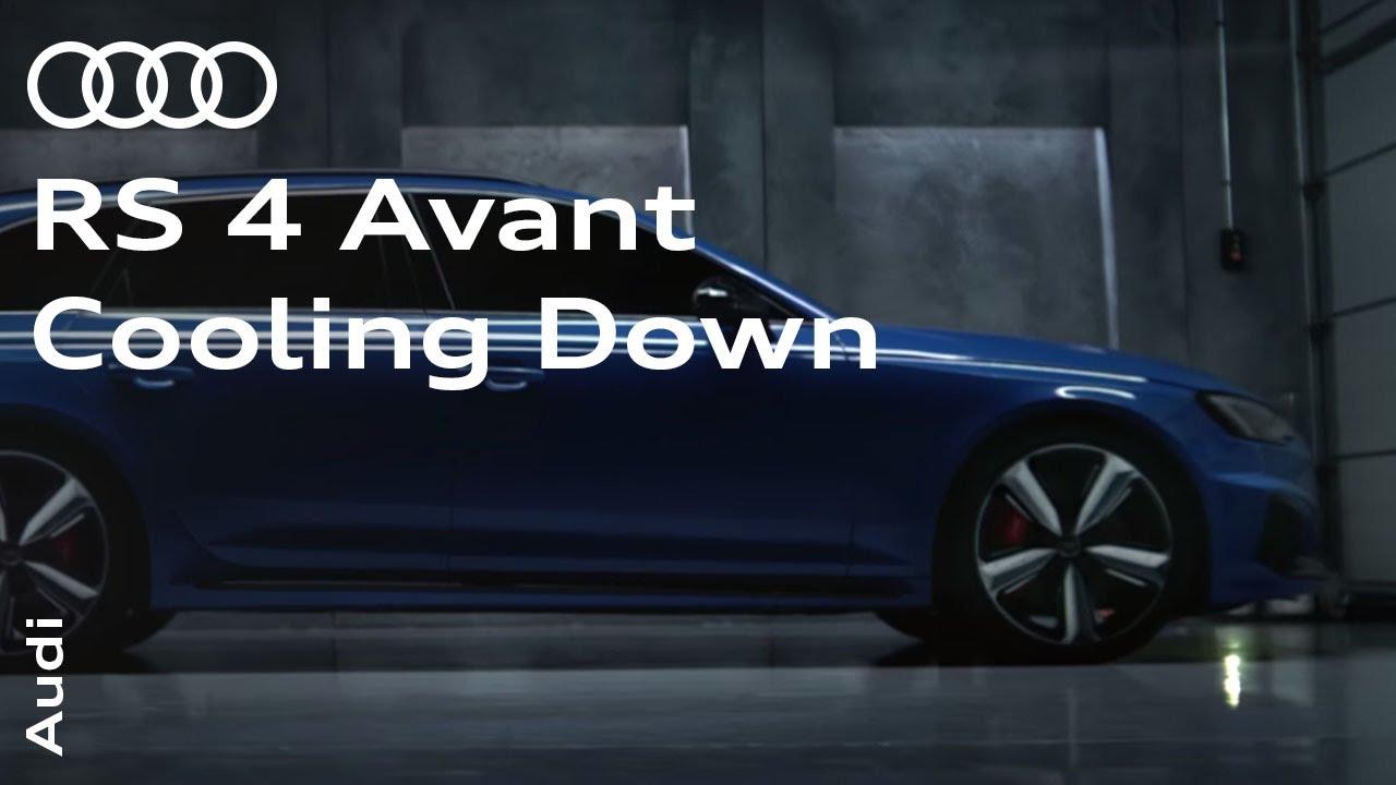 The new audi rs 4 avant cooling down doovi for Garage audi belgique mouscron