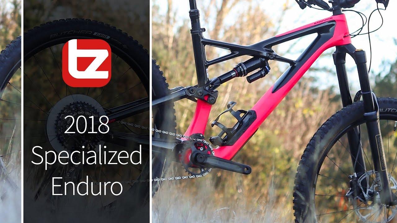 Specialized Enduro Mountain Bike Review | Tredz Bikes