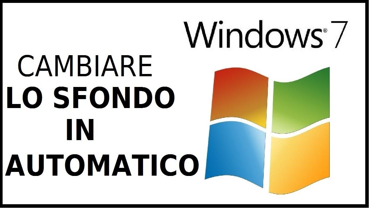 Come Cambiare Lo Sfondo Del Desktop Automaticamente Su Computer Windows 7 Pc