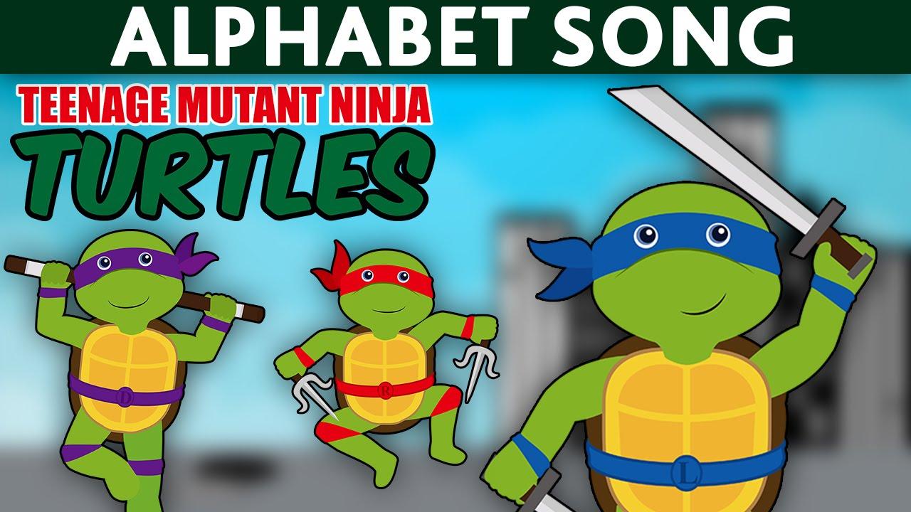 TMNT TEENAGE MUTANT NINJA TURTLES Videos ABC Song Alphabet