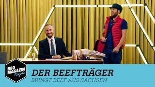 Der Beefträger bringt Beef aus Sachsen   NEO MAGAZIN ROYALE mit Jan Böhmermann - ZDFneo