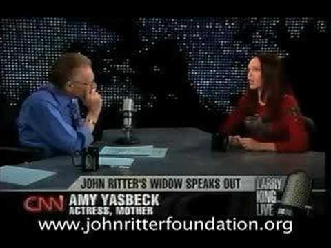 Amy Yasbeck on Larry King Live PT 3