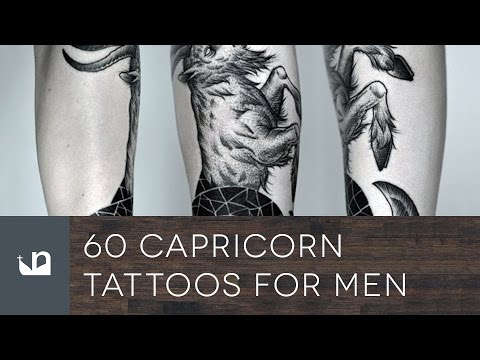 60 Capricorn Tattoos For Men