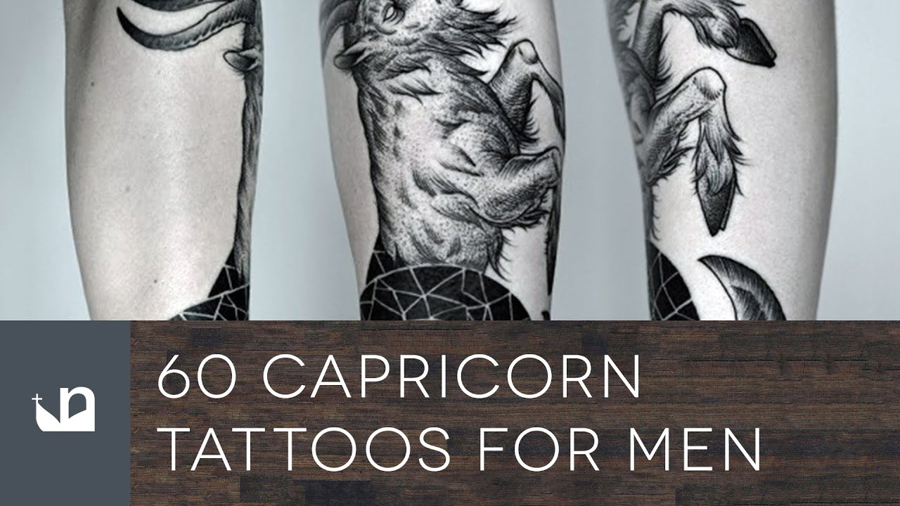 Capricorn Tattoo Designs For Men