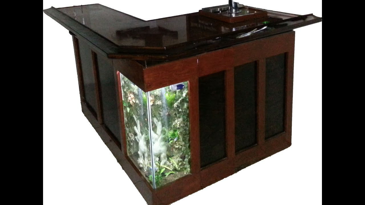 Merveilleux Home Bar Aquarium DIY   YouTube