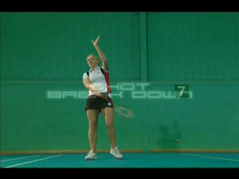 Badminton Technique - Forehand Drive