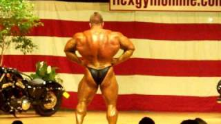 Mr. Olympia, Jay Cutler Posing @ NPC Bodybuilding Show in Ottawa, IL