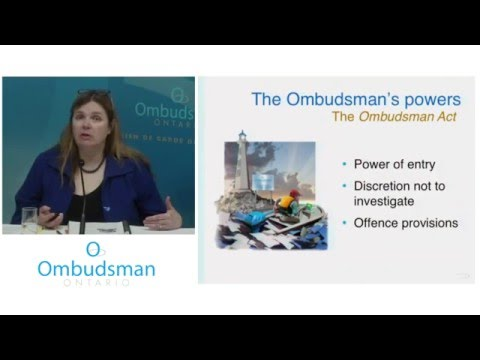 What to expect when the Ombudsman calls: Webinar for school boards