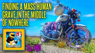 Badlands Texas : Finding a Mass Human Grave [Motorcycle Adventure]