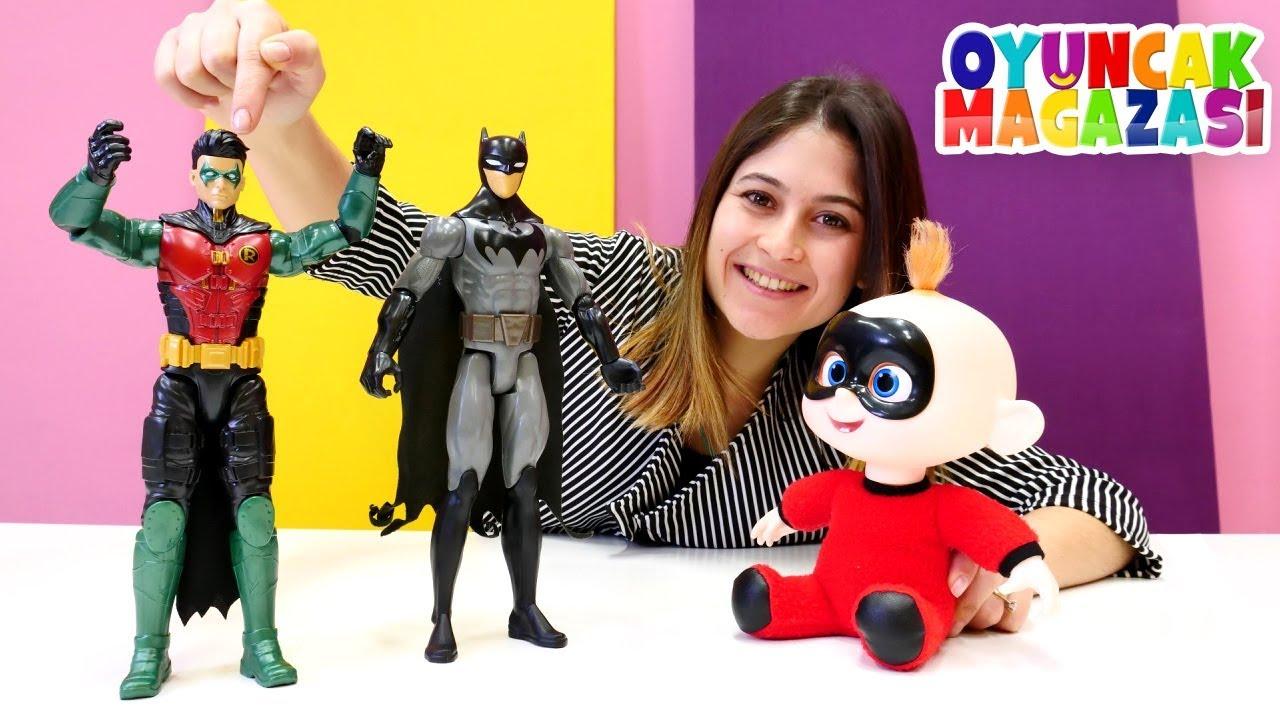 Ayşe'nin oyuncak mağazası. Batman ekip arkadaşı Robin! Oyuncak tanıtımı videosu