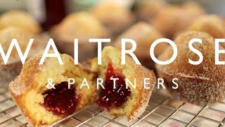 Raspberry Doughnut Muffins | Waitrose